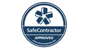 Safe Contractor approved security installation company logo