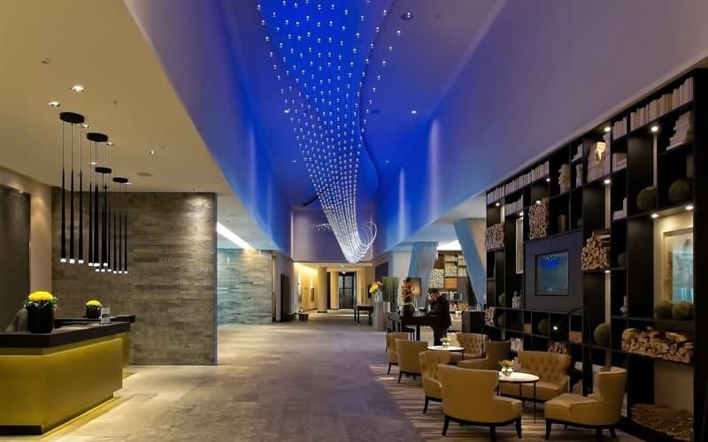 Hospitality lobby
