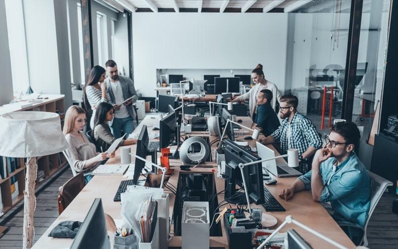 small office team