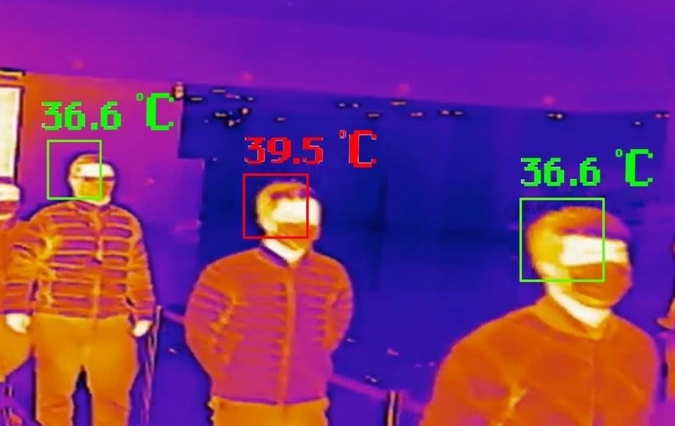 Thermal screening camera for covid security solution