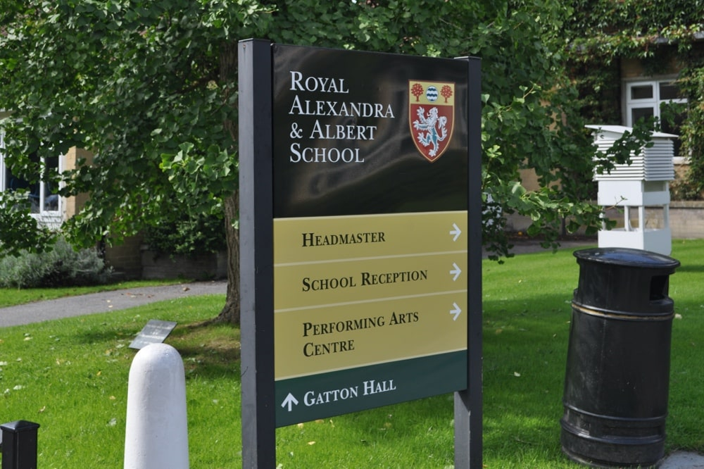 school security system with cctv access control in surrey