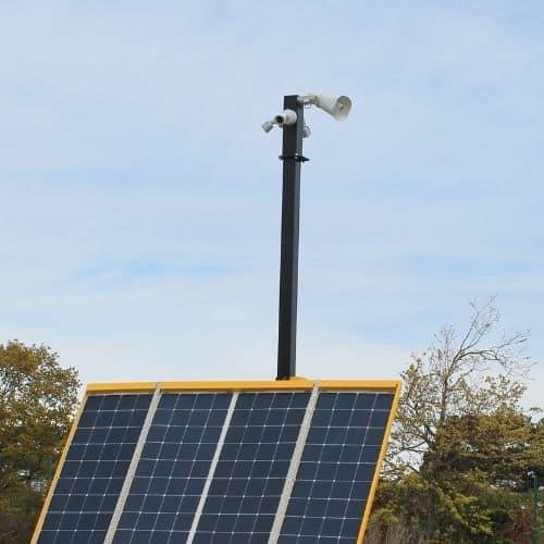 Solar Communication Paltform - mast